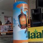 reklaamsilinder, reklaamsilinder logoga, täispuhutav reklaamsilinder, bulbo, täispuhutav reklaam