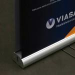 rollup hind, rollup, kahepoolne rollup, viasat reklaam, kahepoolne reklaam, alumiinium konstruktsioon