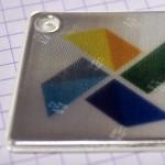 softreflector, heijastin, heijastimet, Omalla logolla heijastin