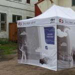 Messuteltta, mainos teltta, painettu teltta
