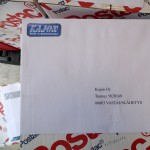 kirjekuoret, kirjekuori, painettu kirjekuori