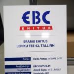 Vaahto PVC levy, tietokyltti, ohjekyltti, numerokyltti, väliaikainen rekisterikilpi