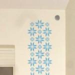 interjöörkleebised, kleebised seinal, musterkleebised