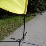 lipu jalg, lipu alus, kroomitud harkjalg, reklaamlipu alus